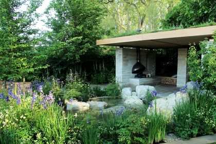Tuin therapie, helen in je eigen tuin