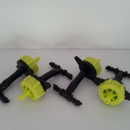 set van 4 microdruppelaars voor de EetbareWand