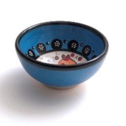 wasabi schaaltje blauw met vismotief