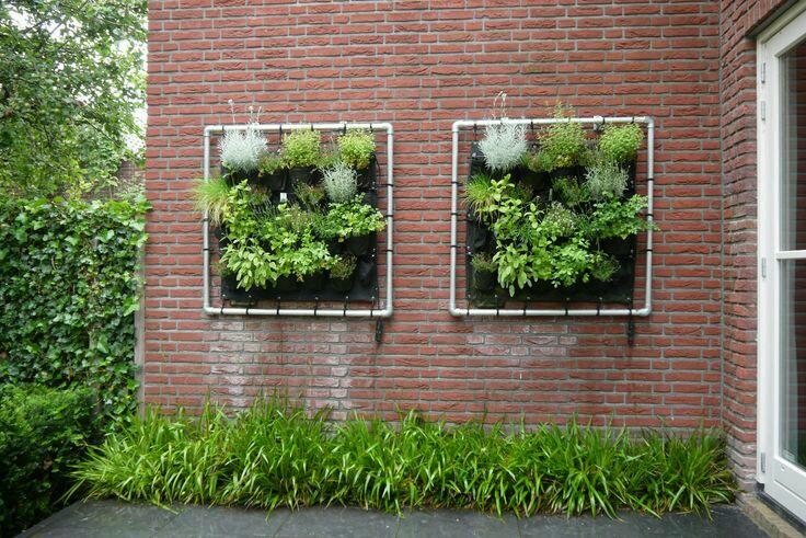 Eetbarewand for Tuinontwerp eetbare tuin