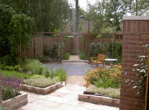 onderhoudsvriendelijke tuin Son