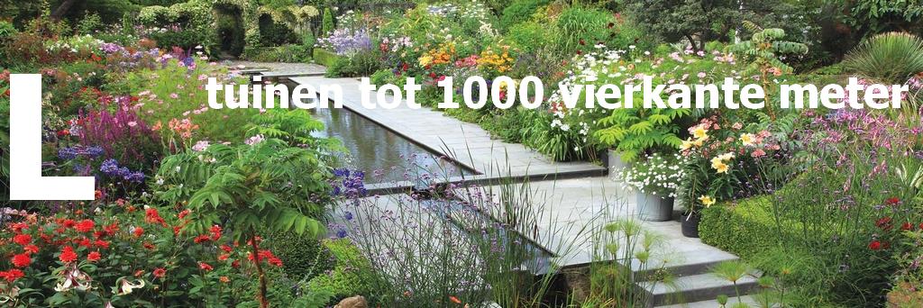 Wat kost een tuin tuinen tot 1000 vierkante meter for Wat kost een vijver