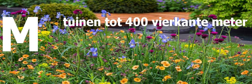 M - middelgrote tuin tot 400 vierkante meter