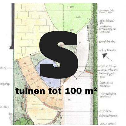 Inspiratietuinen tot 100 vierkante meter