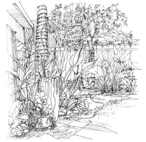 schets met potlood Leon van Rijswijk
