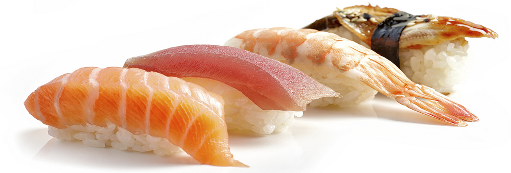 Sushi heb je in vele verschillende soorten
