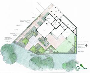 Tuinontwerp Nieuwbouwhuis Empel