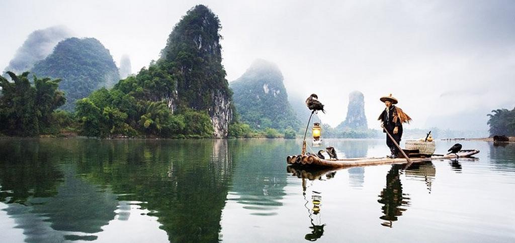 Yangshuo China bamboo massage