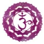 Kruin Chakra, het zevende chakra. Ook wel het kroon chakra genoemd