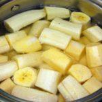 Hoe maak je bananenthee?