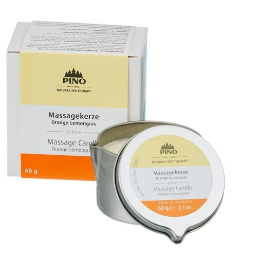 massagekaars sinaasappel - limoengras