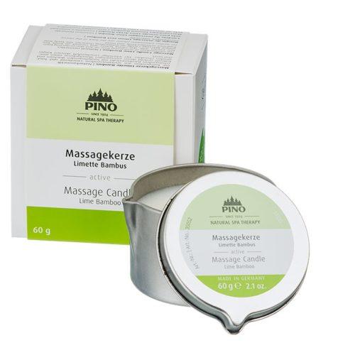 massagekaars limoen - bamboe