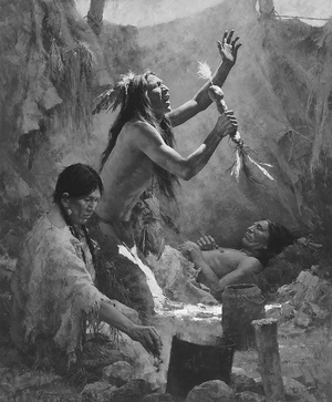sjamanen kruiden meesters