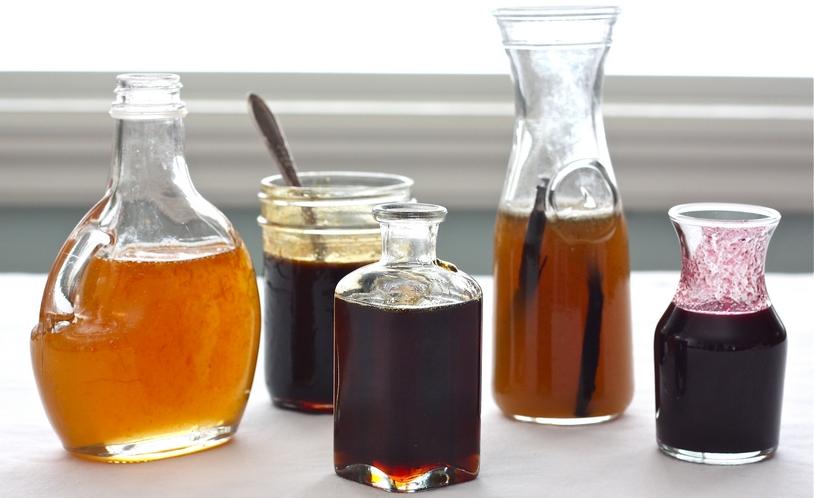10 handige tips om overgebleven kruiken te gebruiken, Kruiden siroop