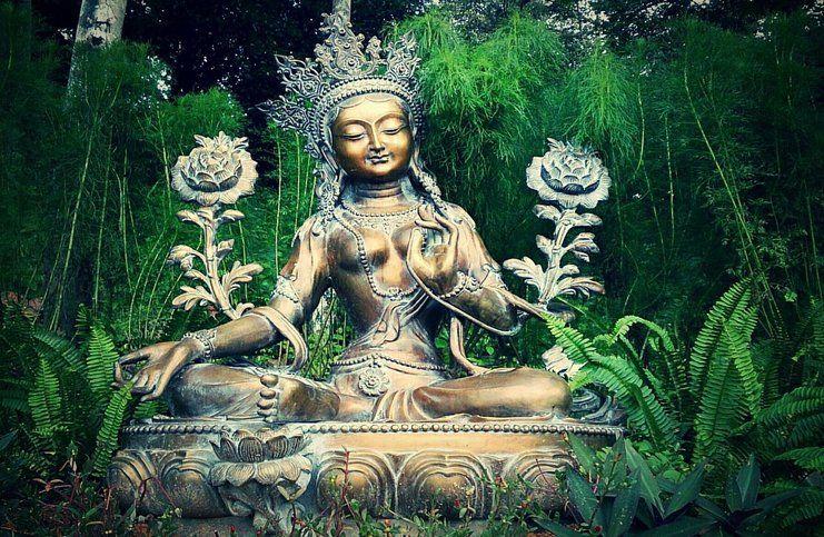 Om tare tuttare ture soha - groene moeder mantra