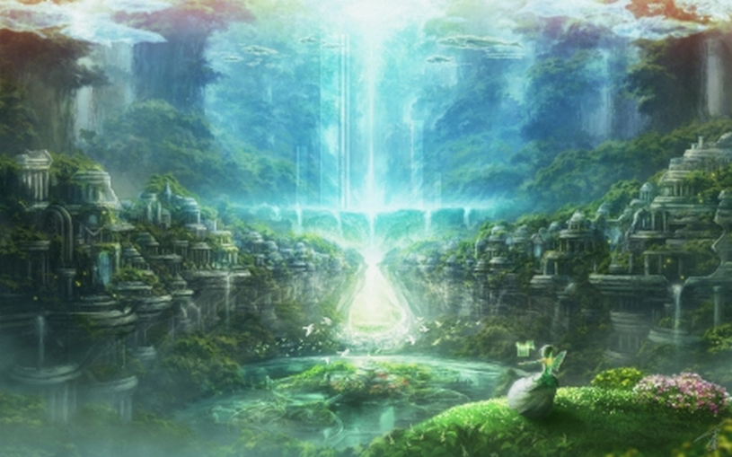 Helder van geest zijn tijdens het Astraal reizen