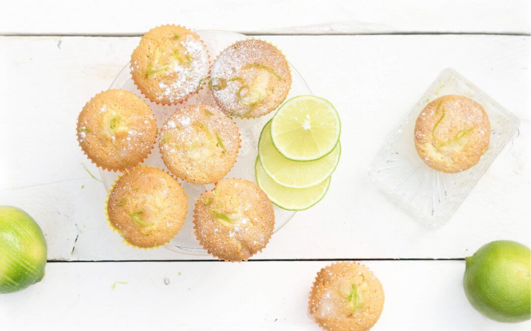Bergamot cakejes met frisse icing door Jadis van The Lemon Kitchen