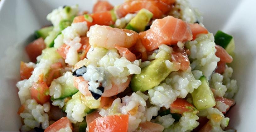 sushi - wasabi salade