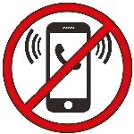 mijn telefoon staat uit tijdens een massage