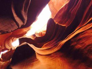 reflexologie van vrouwelijk bekken - ingang geheime grot