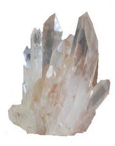 kracht van de gouden driehoek - bergkristal