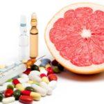 grapefruit met medicijnen - pas op