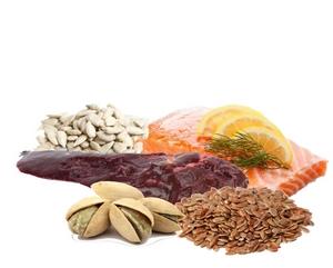 Vitamine B6 zit in vlees, eieren, vis, brood en andere graanproducten, aardappelen en peulvruchten. Groenten, melk en melkproducten zoals kaas bevatten ook vitamine B6, maar in kleinere hoeveelheden.