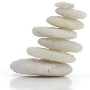 massage met koude stenen