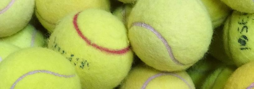 Masseren met een tennisbal