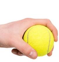 masseren met tennisbal Hartbeschermer meridiaan 8