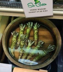 verse wasabi verkrijgbaar bij SirGreenWasabi