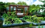 badkamer in de tuin