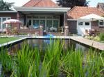 Tuinontwerp Elshout met zwemvijver